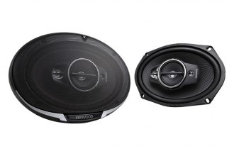 "Kenwood® - 6"" x 9"" Performance Series 4-Way 600W Car Speakers"