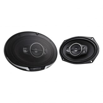 "Kenwood® - 6"" x 9"" 5-Way Performance Series 650W Coaxial Speakers"