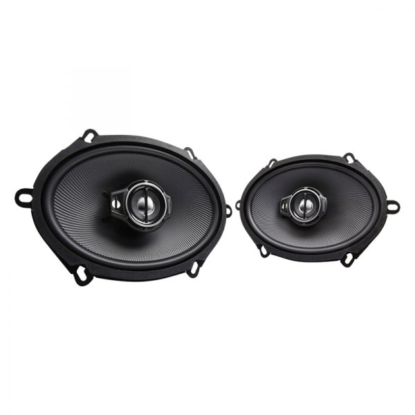 "Kenwood® - 5""x7"" 3-Way Performance Series Coaxial 360W Car Speakers"