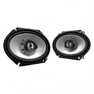 "Kenwood® - 6"" x 8"" 2-Way Sport Series 250W Custom Fit Speakers"