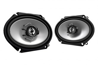 "Kenwood® - 6"" x 8"" Sport Series 2-Way Custom Fit 250W Car Speakers"