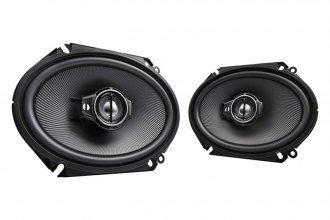"Kenwood® - 6"" x 8"" Performance Series 3-Way Custom Fit 360W Car Speakers"