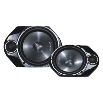 "Kenwood® - 6"" x 8"" 2-Way Performance Series 200W Plate-Mounted Speakers"
