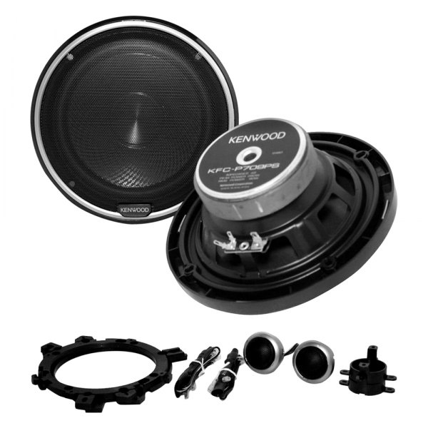 "Kenwood® - 6-1/2"" 240W Component Speakers System"