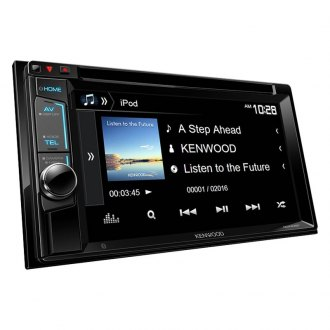 "Kenwood® - Double DIN CD/DVD/MP3/WMA/AM/FM Receiver with 6.2"" VGA Color LCD Display and Bluetooth"
