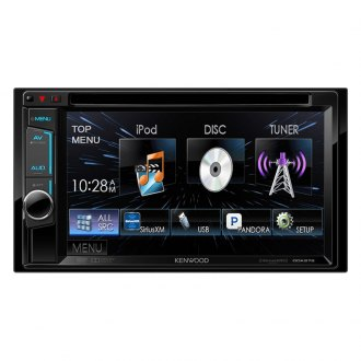 "Kenwood® - Double DIN In-Dash CD/DVD/MP3/WMA/AM/FM Receiver with 6.2"" VGA Color LCD Display"