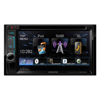 "Kenwood® - Double DIN In-Dash CD/DVD/MP3/WMA/AM/FM Receiver with 6.2"" VGA Color LCD Display and Bluetooth"