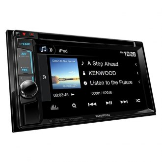 "Kenwood® - Double DIN DVD/CD/AM/FM/MP3/WMA Receiver with 6.2"" VGA Color LCD Display, Built-In Bluetooth, HD Radio and SiriusXM-Ready"