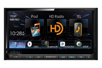 "Kenwood® - Double DIN DVD/CD/MP3/USB Receiver with 6.95"" Built-in HD RadioT, LCD Monitor and Bluetooth"