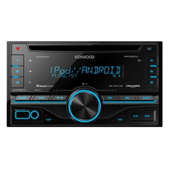 Kenwood® - Double DIN CD/MP3/USB Receiver with Built-in HD RadioT, Built-in MOSFET Amplifier