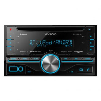 Kenwood® - Double DIN CD/MP3/USB Receiver with Built-in HD RadioT, Built-in MOSFET Amplifier and Bluetooth
