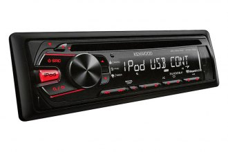 Kenwood® - Single DIN In-Dash CD/MP3 Receiver with USB Interface