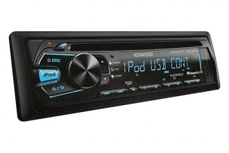 Kenwood® - Single DIN In-Dash CD/MP3 Receiver with USB, AUX Input and Pandora Support