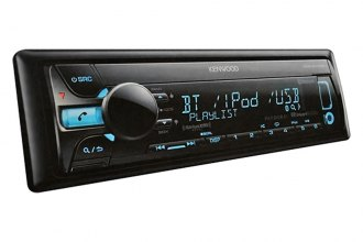 Kenwood® - Single DIN In-Dash CD/MP3 Receiver with Aux Input, USB and SiriusXM ready