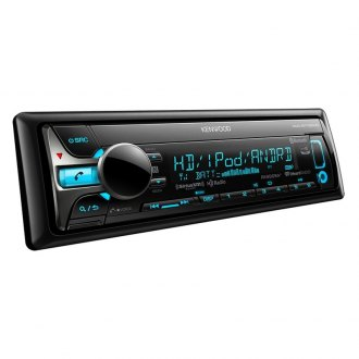 Kenwood® - Single DIN CD/AM/FM/MP3/WMA/AAC Receiver with SiriusXM, HD Radio and Built-In Bluetooth