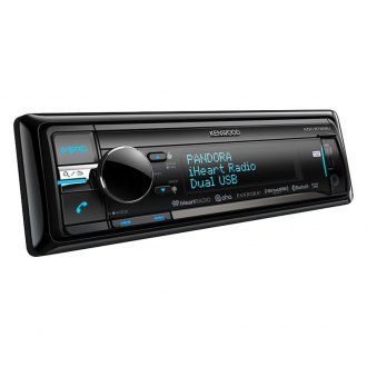 Kenwood® - Single DIN CD/AM/FM/MP3/WMA/AAC Receiver with Built-In Bluetooth and 2-Way iPod Control and SiriusXM Ready