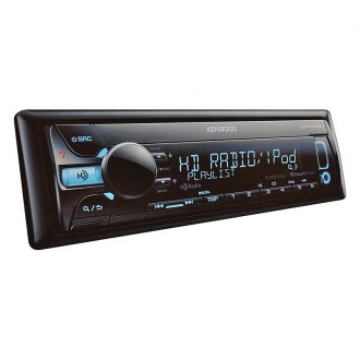 Kenwood® - Single DIN In-Dash CD/MP3 Receiver with AUX, USB Input and HD Radio