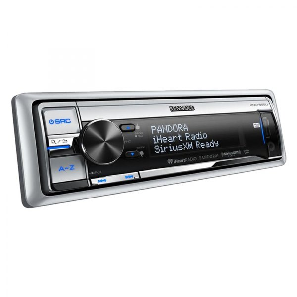 Kenwood® - Single DIN In-Dash CD/MP3/AM/FM Marine Stereo Receiver with Dual USB, iPod Connection and Pandora Radio Control