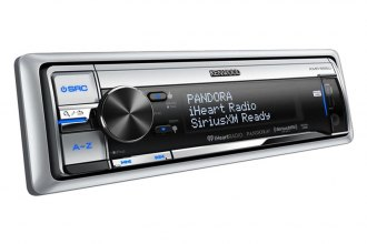 Kenwood® - Single DIN Marine In-Dash CD/MP3/AM/FM Stereo Receiver with SiriusXM, Dual USB, iPod Connection and Pandora Radio Control