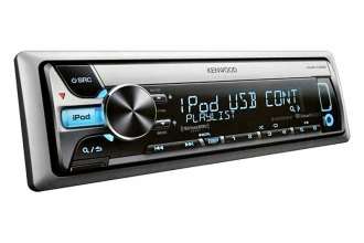 Kenwood® - Single DIN Marine In-Dash CD/MP3/AM/FM Stereo Receiver with SiriusXM, Single USB, iPod Connection and Pandora Radio Control