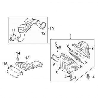 Pro Inlet//Exhaust Manifold Flexible Performance Gasket for Kia Sorento I