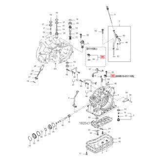Kia rio transmission solenoids sensors switches control units kia oe vehicle speed sensor fandeluxe Choice Image