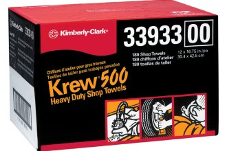 "Kimberly Clark® 33933 - 12"" x 16"" 3/4"" Krew Heavy Duty Rags-Twin Pop-Up"
