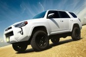 Image may not reflect your exact vehicle! King Shocks® - Shocks Installed on Toyota 4Runner