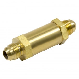 Kinsler Fuel Injection® - High-Flow Brass Valve with 6 AN Male Flare