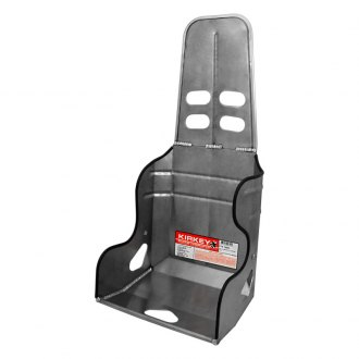 Kirkey® - 24 Series Non Containment 8 Degree Layback Child/Quarter Midget Single Rib Racing Aluminum Seat