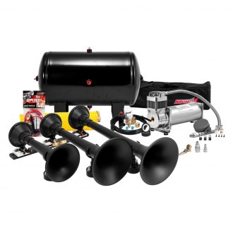 Kleinn® - Pro Blaster™ Triple Black Air Horn Kit