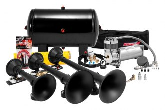 Kleinn® - Black Pro Blaster™ Triple Train Air Horn Kit