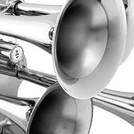 Kleinn® - Chrome Quad Air Horns