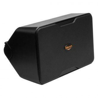 Klipsch® - Black Outdoor Speakers Pair