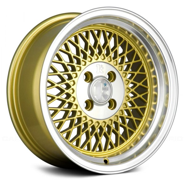 KLUTCH® - SL1 Gold with Machined Center and Lip