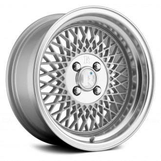 KLUTCH® - SL1 Silver with Machined Center and Lip