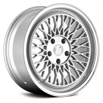 KLUTCH® - SLC1 Silver with Machined Center and Lip