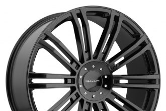 "KMC® - D2 Gloss Black (19"" x 8.5"", +35 Offset, 5x127 Bolt Pattern, 72.6mm Hub)"