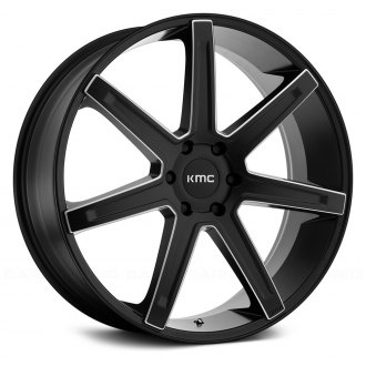 KMC® - KM700 REVERT Satin Black with Milled Accents