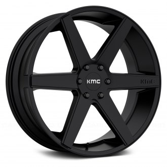 KMC® - KM704 Satin Black