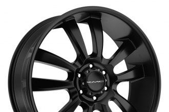 "KMC® - SKITCH Satin Black (20"" x 8.5"", +15 Offset, 6x139.7 Bolt Pattern, 106.25mm Hub)"