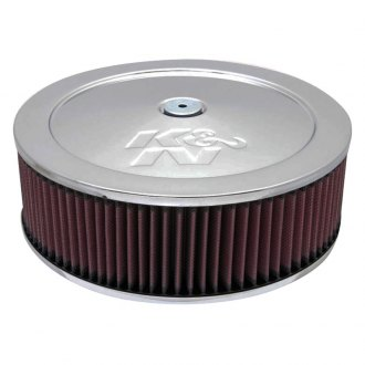 "K&N® - Custom Round Air Cleaner Assembly (3/4"" Vent Tube On Base)"