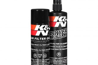 K&N® 99-5000 - Air Filter Recharge Kit (Cleaner and Aerosol Oil)