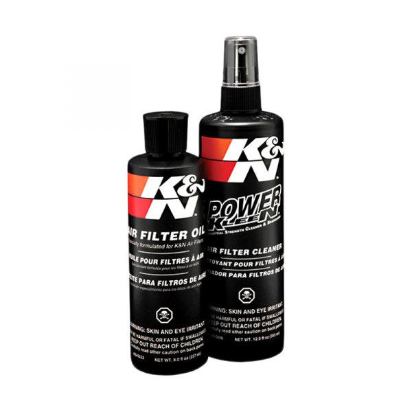 K&N® - Air Filter Recharge Kit, Cleaner and Squeeze Bottle Oil