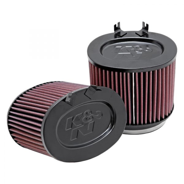 K&N® - Oval Straight Universal Air Filter