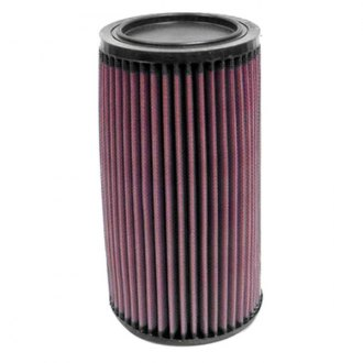 "K&N® - E Series Round Red Air Filter (5"" B x 4.438"" T x 5"" OD)"