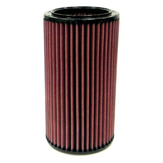 "K&N® - E Series Round Red Air Filter (4.938"" OD)"