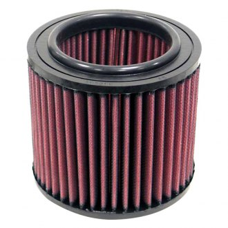 "K&N® - E Series Round Red Air Filter (5.375"" OD)"
