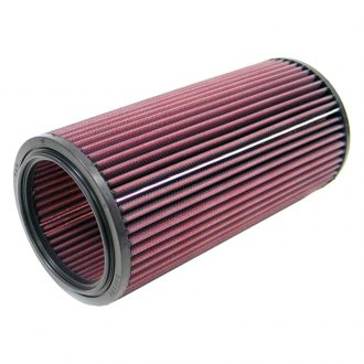 "K&N® - E Series Round Red Air Filter (5.125"" OD)"