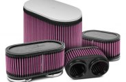 K&N� - Dual Flange Oval Straight Air Filter